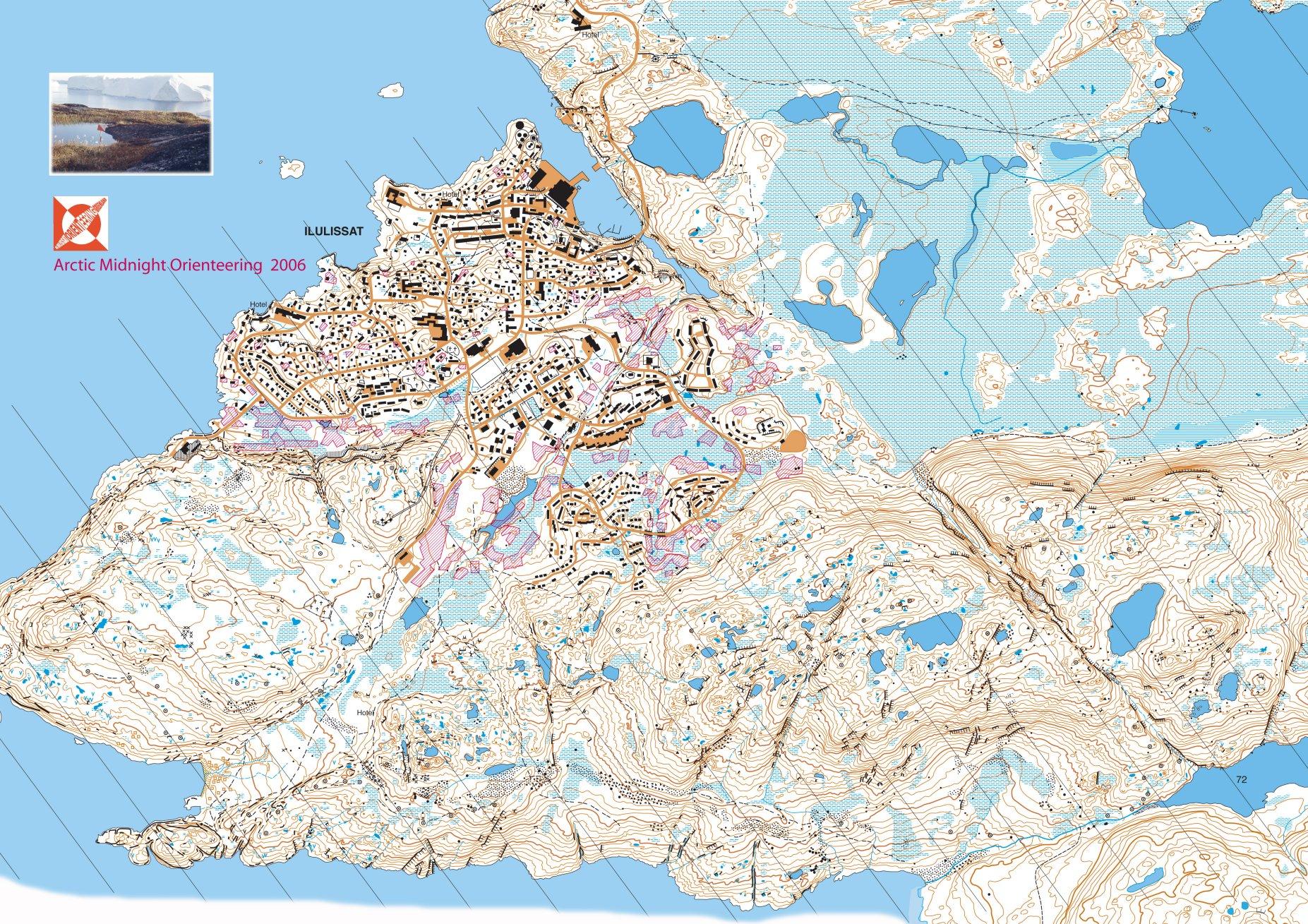 Ol Karte Ilulissat Big Map World Of O Maps